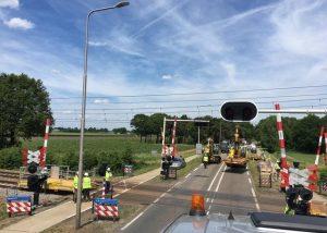 Raildemper project Brabant Route, BAM Rail