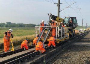 Raildemper project HSL Route, BAM Rail