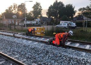 Raildemper project Wadden Route, Strukton Rail